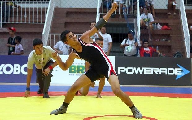 Luuta Olímpica Felipe Santana Manaus (Foto: Gaspar Nobrega/Inovafoto)