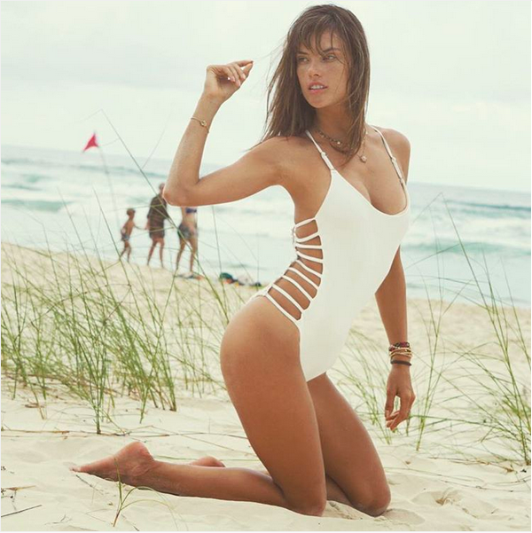 A modelo brasileira Alessandra Ambrosio (Foto: Instagram)