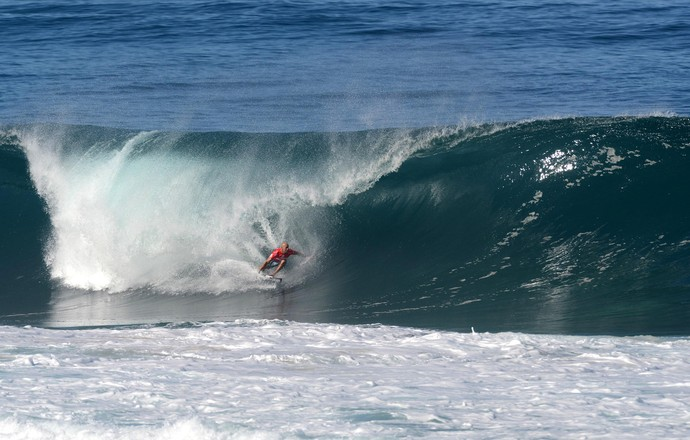 kelly Slater, Surfe, Pipeline, torcedores (Foto: Pedro Gomes Photography)