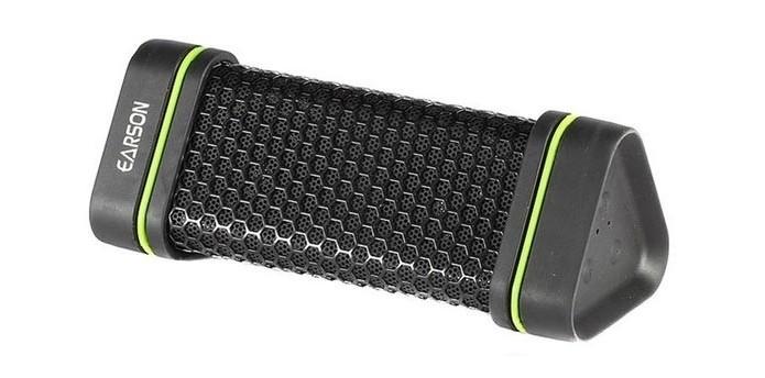 Caixa de som Bluetooth pode ficar debaixo de chuva e garoa (Foto: Divulgação/Earson)