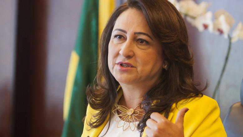 katia_abreu_ministra_ministerio (Foto: Marcelo Min/Ed. Globo)