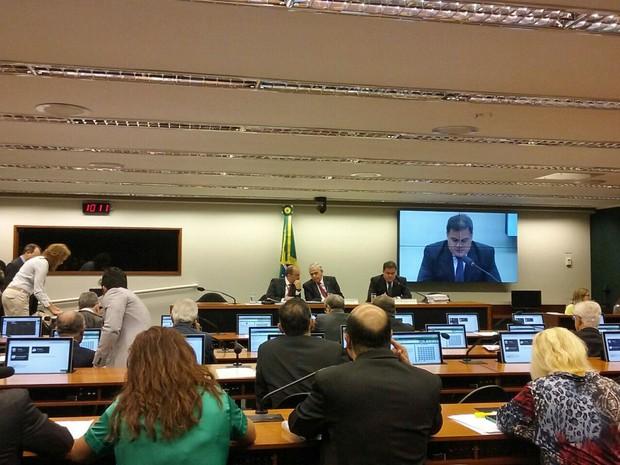 Integrantes da CPI do Carf aprovam convocação do presidente do órgão (Foto: Fernanda Calgaro / G1)