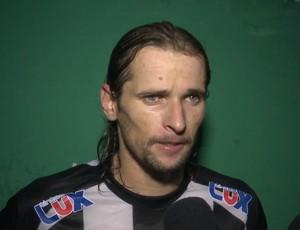 Junior Gaúcho, volante do Treze (Foto: Reprodução / TV Paraíba)
