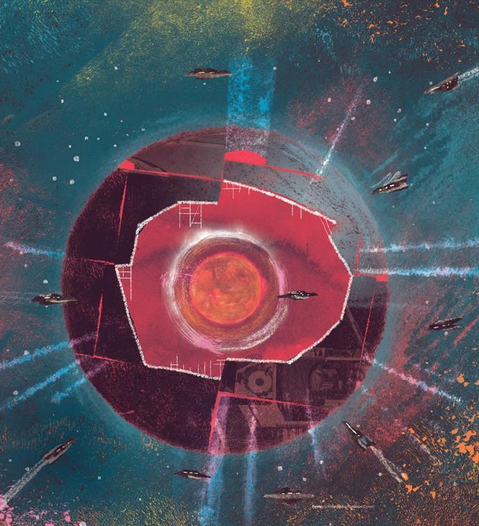 Conheça a fascinante história da estrela mais estranha da galáxia