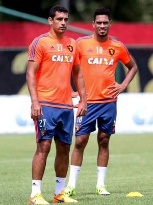 Diego Souza Hernane Brocador Sport (Foto: Aldo Carneiro / Pernambuco Press)