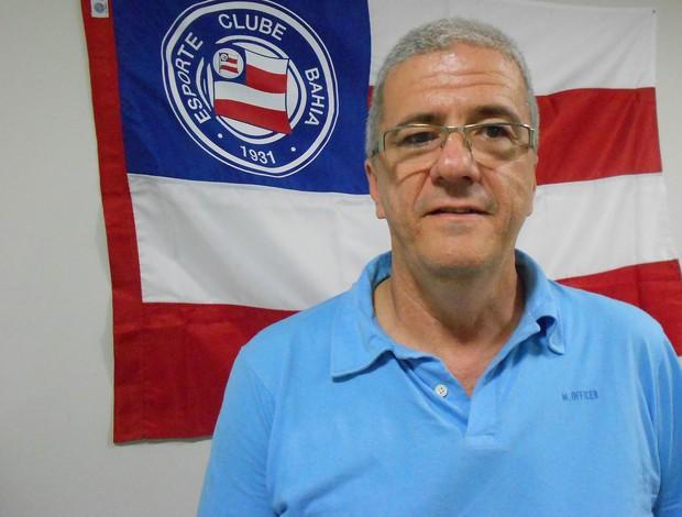 Antônio Tillemont, candidato à presidência do Bahia (Foto: Thiago Pereira)