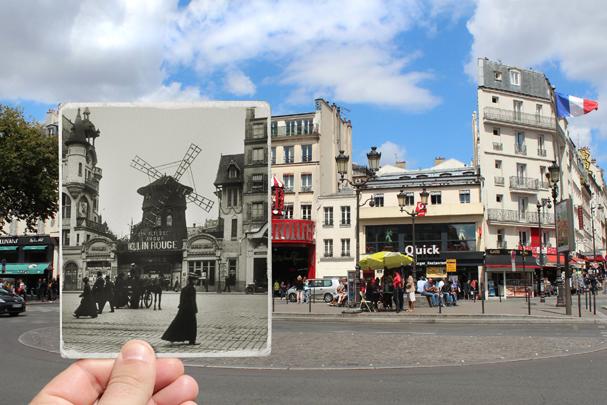 Boulevard de Clichy, 1900 (Foto: JULIEN KNEZ / KEYSTONE-FRANCE)