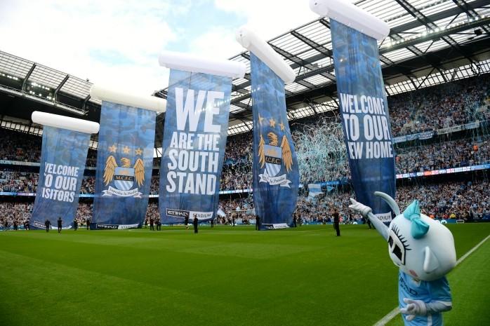 Manchester City nova arquibancada estádio