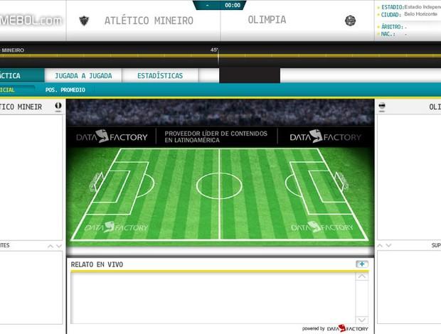 Conmebol, Independência, Atlético-MG (Foto: Reprodução / Site Oficial da Conmebol)