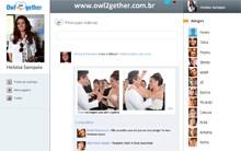 Rede social também ajudou delegada Helô (Salve Jorge/TV Globo)