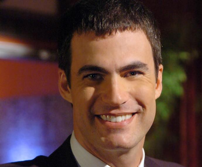 Na novela Sete Pecados, Carlos Casagrande interpretou o investigador Amadeu (Foto: Cedoc / TV Globo)