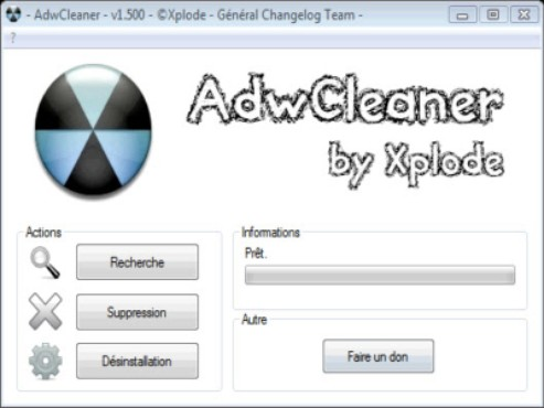 screenshot de ADW Cleaner