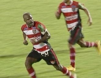 Jorge Luiz, zagueiro, Linense, Copa Paulista (Foto: Reprodução / TV TEM)