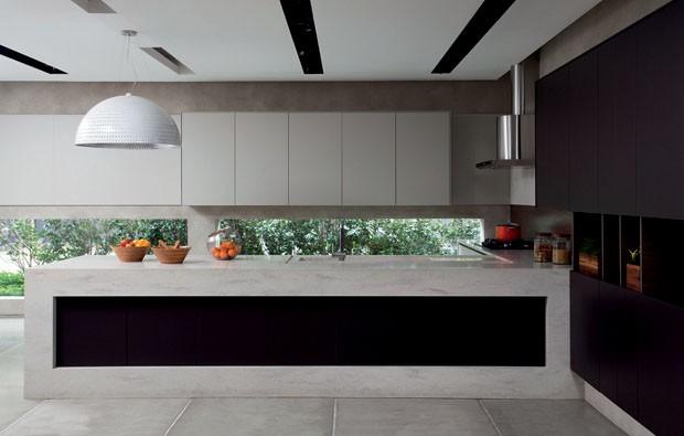 Especial cozinhas planejadas e belas  Casa Vogue  Ambientes # Bom Negocio Armario De Cozinha Es