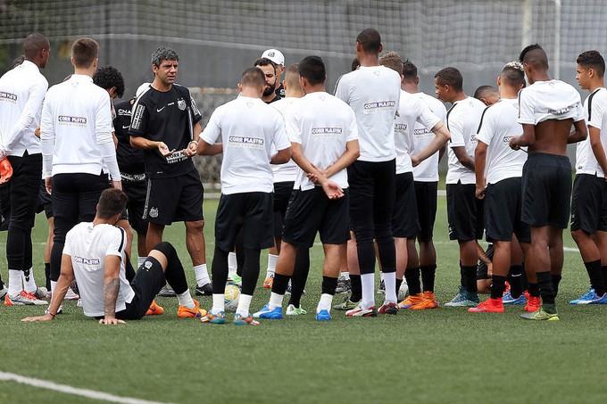 Santos - Copinha (Foto: Pedro Ernesto Guerra Azevedo/Santos FC)