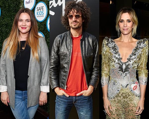 Drew Barrymore, Fabrizio Moretti, Kristen Wiig (Foto: Getty Images)