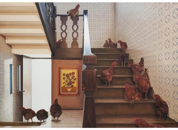 Tela Ana Elisa Egreja (Foto: Escada galinhas, 2016)
