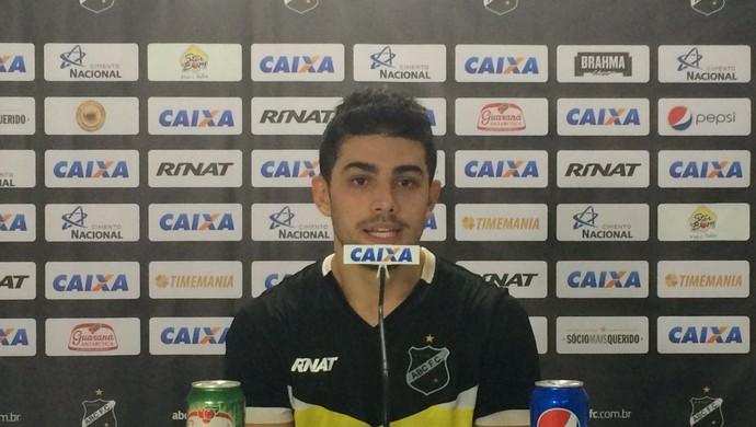 ABC - Gegê - meia (Foto: Luiz Henrique/GloboEsporte.com)