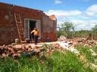 Vendaval deixa 21 casas destelhadas em Itororó do Paranapanema