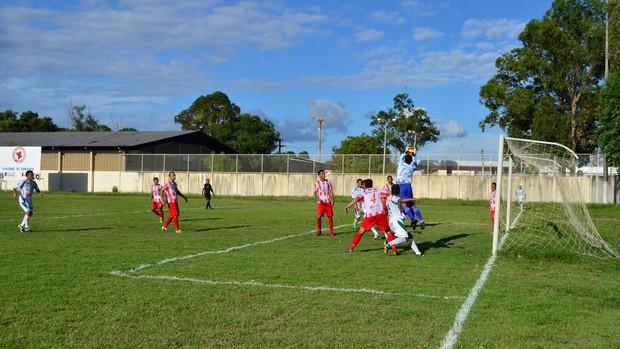 O Náutico-RR venceu o Paragominas-PA por 3 a 0 pla Série D (Foto: Alberto Rolla/GLOBOESPORTE.COM)
