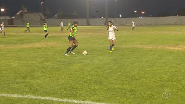 campeonato amapaense, futebol, feminino, sub-20, globo esporte amapá (Foto: Globo Esporte AP)