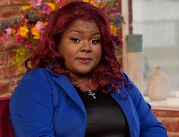 "Patrice Benjamin-Ramgoolam contou no programa ""The Morning"" sua mania de comer tijolos (Foto: ITV)"