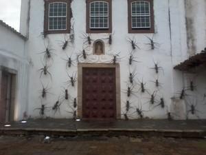 """Exposição """"Formigas"""" em Cabo Frio, RJ (Foto: Divulgação)"""