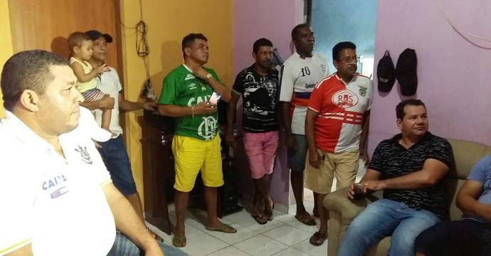 família de marlone, tocantins (Foto: GloboEsporte.com)