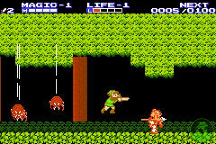 Zelda II: The Adventure of Link não era ruim, mas diferente demais (Foto: Divulgação/Nintendo)