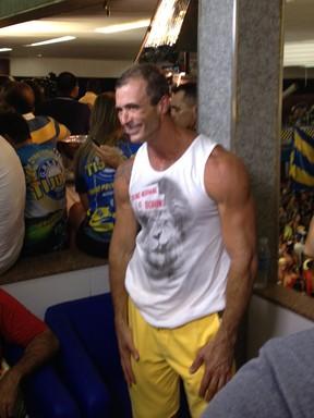 O carnavalesco Paulo Barros na quadra da Unidos da Tijuca (Foto: EGO)
