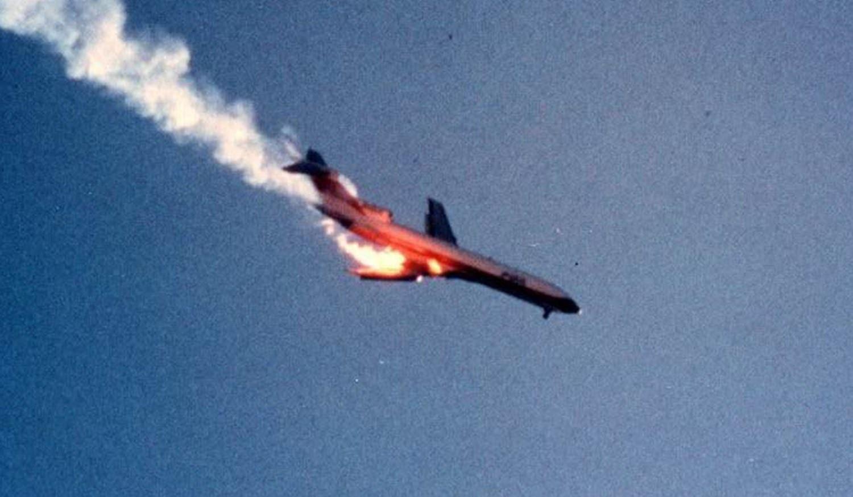 Imagem do voo PSA182  (Foto: Divulgao)