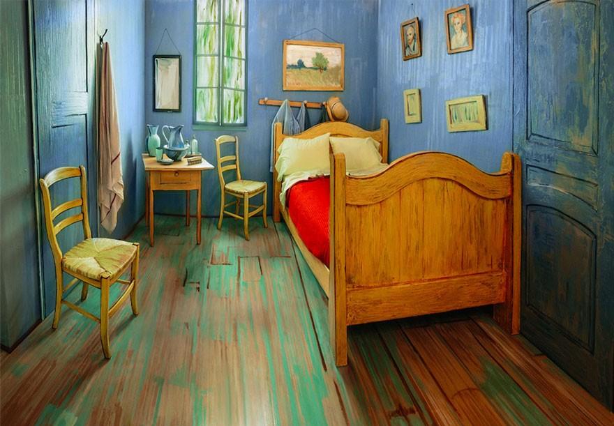 Arte e Estética - Página 6 Van-gogh-room-airbnb-art-institute-chicago-4
