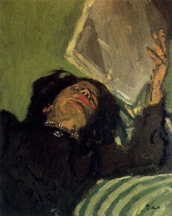 Uma das pinturas suspeitas de Walter Sickert (1860-1942) (Foto: Reprodução)