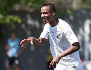 Diego Cardoso, atacante do Santos (Foto: Pedro Ernesto Guerra Azevedo / Santos FC)
