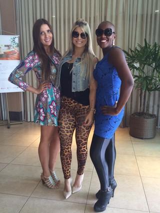 Tamires, Juliana e Angélica  (Foto: Ego)