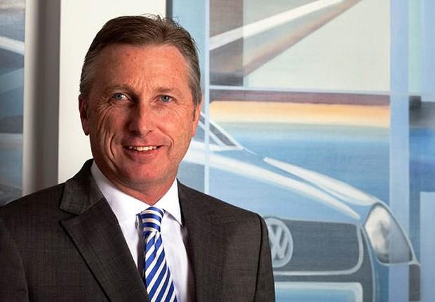 David Powels, presidente da Volkswagen do Brasil (Foto: Divulgação)