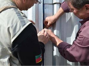 Sede da empresa foi interditada pelo MP no RS durante Operação Gota d Água (Foto: Marjuliê Martini/MP-RS)