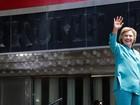 Hillary Clinton usa histórico de falências de cassinos contra Trump