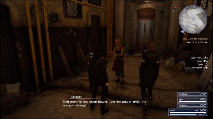 Complete as missões de Randolph para ganhar as armas lendárias (Reprodução/ Cássio Barbosa)