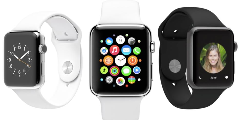 Apple Watch pode ser usado com iPhone e tem modelo com pulseira esportiva (Foto: Divulgação/Apple)