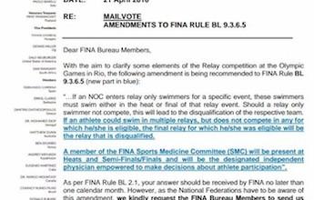 BLOG: Esclarecendo o nadador reserva de revezamento para o Rio 2016