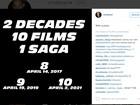 Vin Diesel anuncia datas de oitavo, nono e décimo 'Velozes e Furiosos'