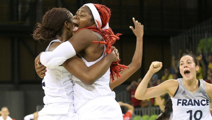 França x Belarus basquete feminino Olimpíada 2016 (Foto: REUTERS/Shannon Stapleton)