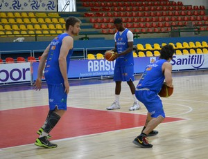 basquete; sul-americana; mogi das cruzes; treino (Foto: Thayana Alvarenga)