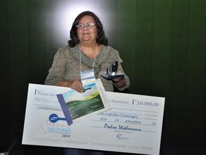 Maria Auxiliadora ganhou prêmio de sustentabilidade por economia de energia e água  (Foto: Divulgação/ Secovi-Rio)