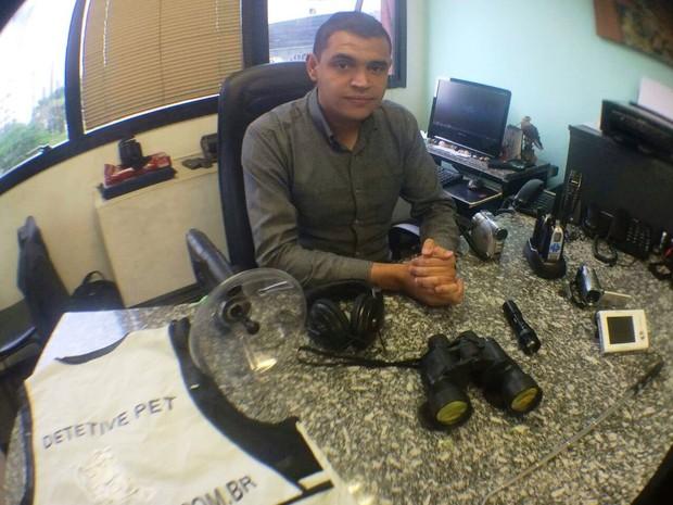 Raul afirma que tem recebido chamados da Baixada Santista para procurar animais (Foto: Arquivo Pessoal / Raul Rocha)