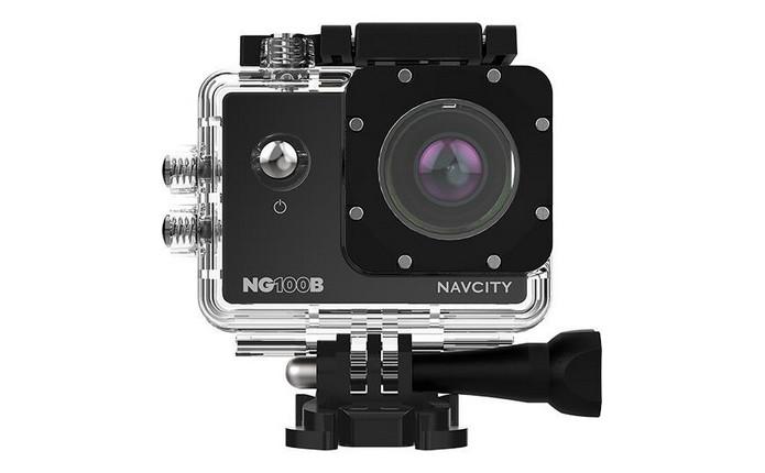 Câmera esportiva Navcity NG-100B (Foto: Divulgação/ Navcity)