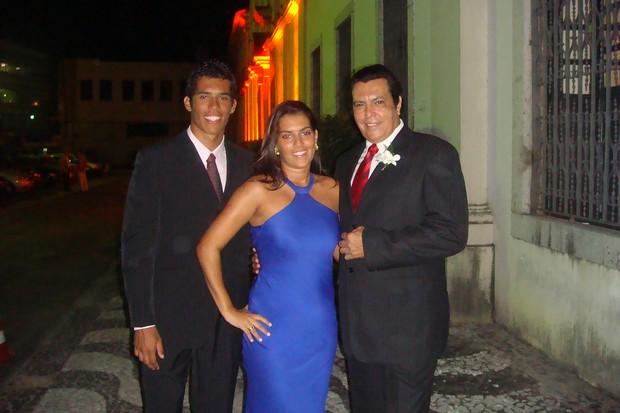 Rodrigo West, Nathália e Signey Magal (Foto: Divulgação)