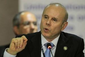O Ministro da Fazenda, Guido Mantega (Foto: EFE)