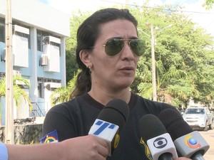 delegada euricélia nogueira (Foto: Reprodução/TV Globo)
